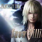 Snow Villiers di FF XIII si aggiunge al roster di Dissidia Final Fantasy NT