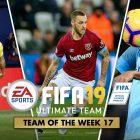 FIFA 19 Ultimate Team – TOTW 17 – La Squadra della Settimana 17