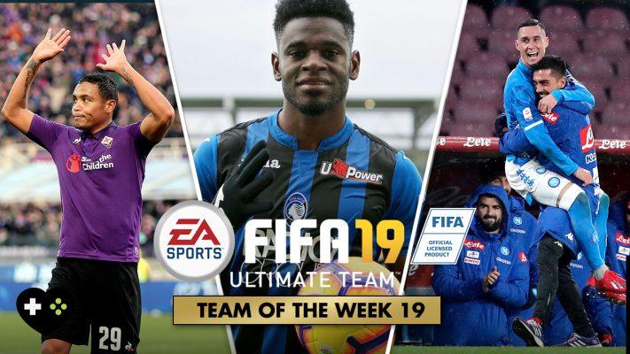 FIFA Ultimate Team – TOTW 19 – La Squadra della Settimana 19