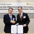 LG e Microsoft insieme per rivoluzionare le tecnologie di guida autonoma – CES 2019