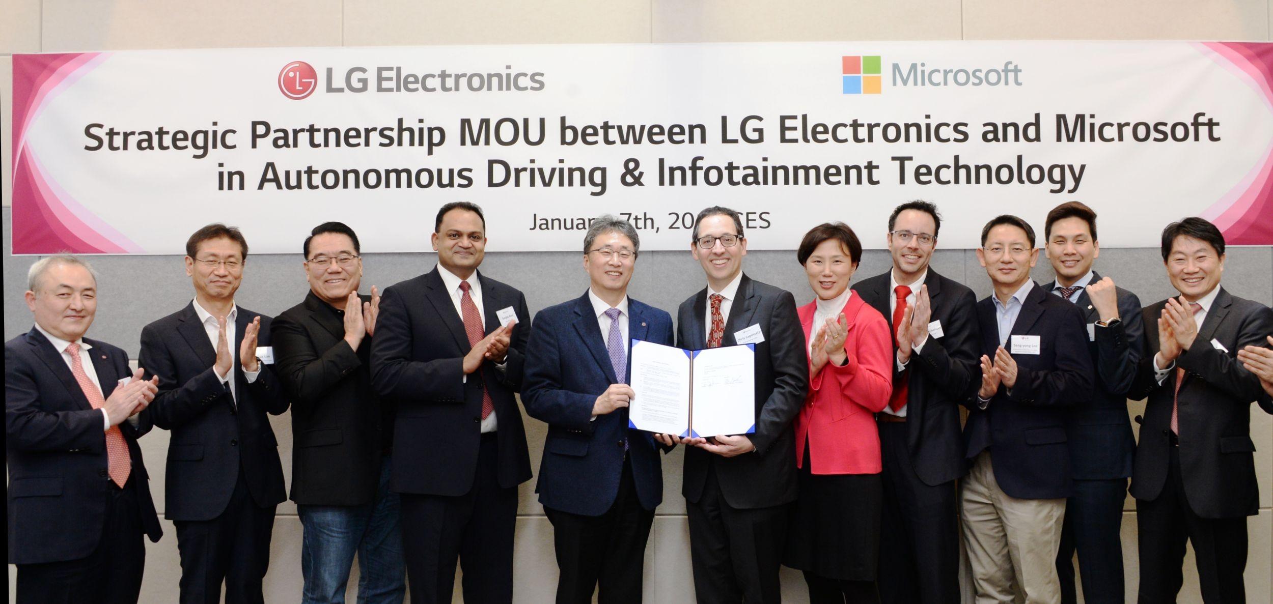 lg microsoft partnership