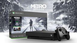 Xbox One X in bundle con la trilogia di Metro