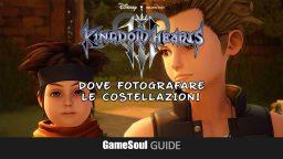 Kingdom Hearts 3 – Fotografare tutte le Costellazioni   Guida