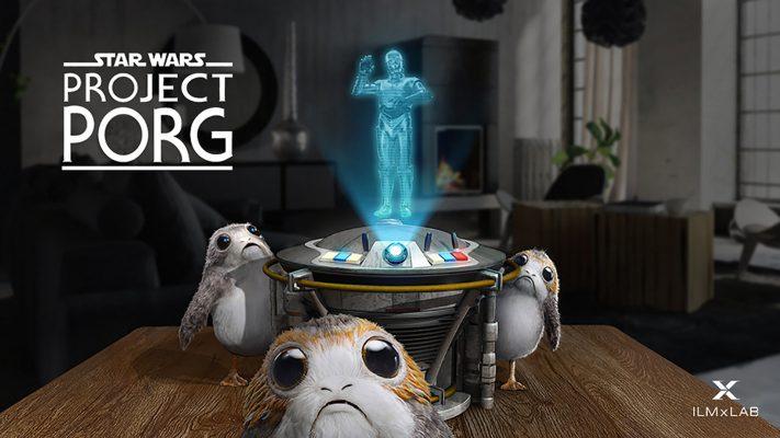 star wars project porg