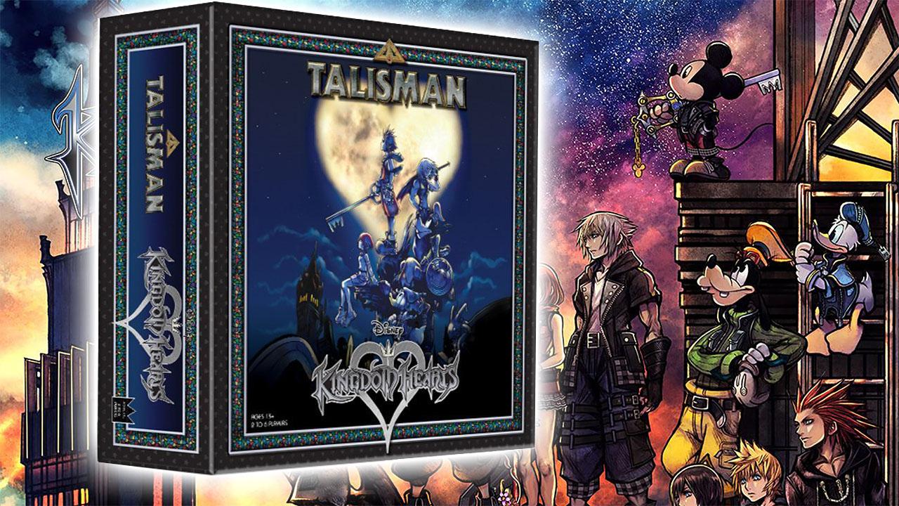 Talisman kingdom hearts sora compagnia diventano un gioco da tavolo - Talisman gioco da tavolo ...