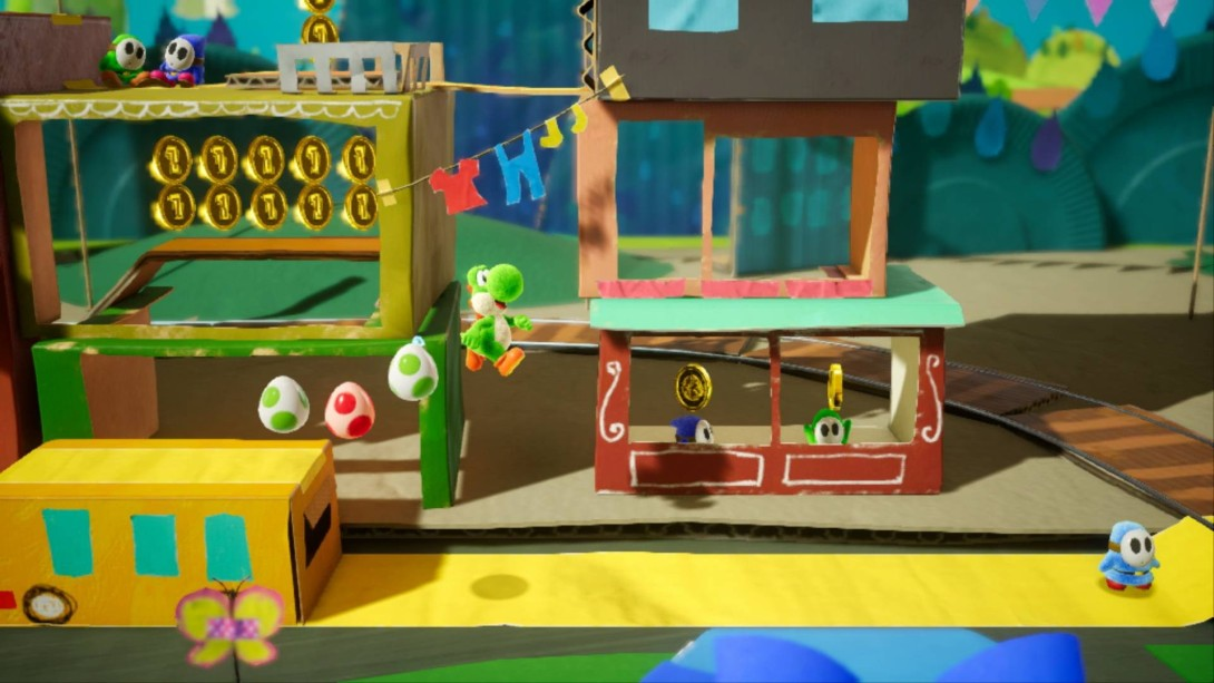 Yoshi's Crafted World screenshot 2