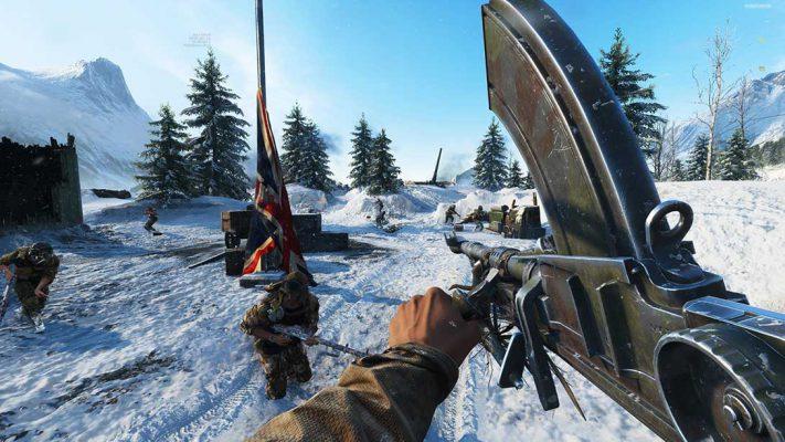 Battlefield 5: diffuso un video della modalità Battle Royale