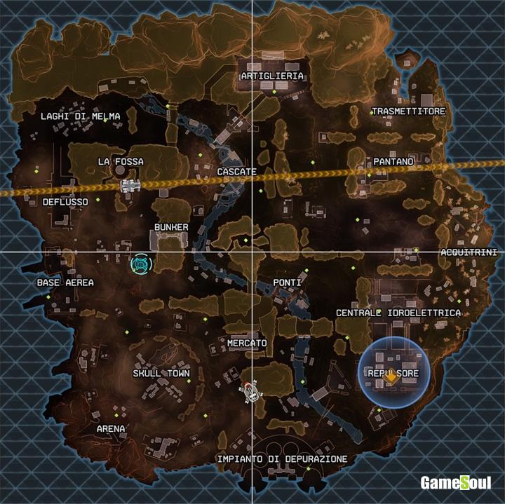 Apex Legends Mappa Canyon dei Re