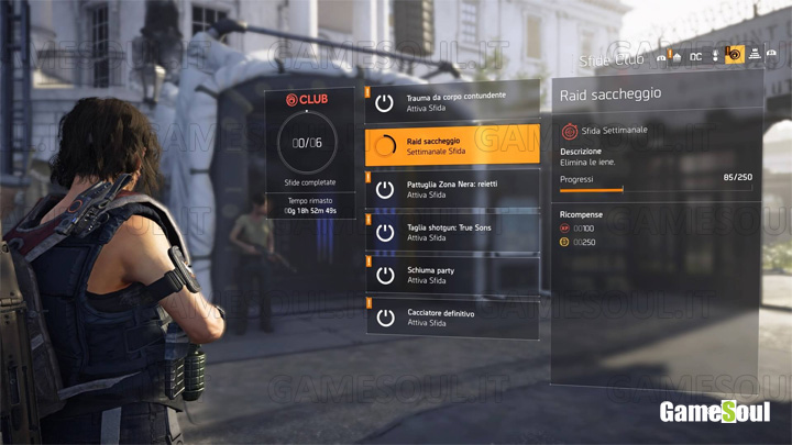 The Division 2 - Guida: Come livellare velocemente