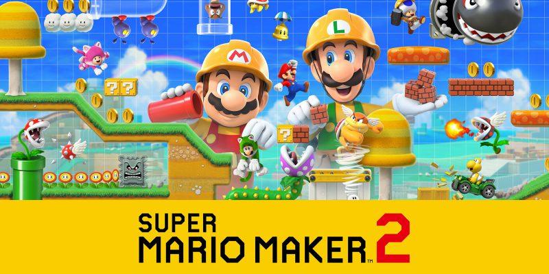 Trapela la data di uscita di Super Mario Maker 2
