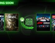 Fallout 4 e F1 2018 tra i nuovi giochi di marzo su Xbox Game Pass