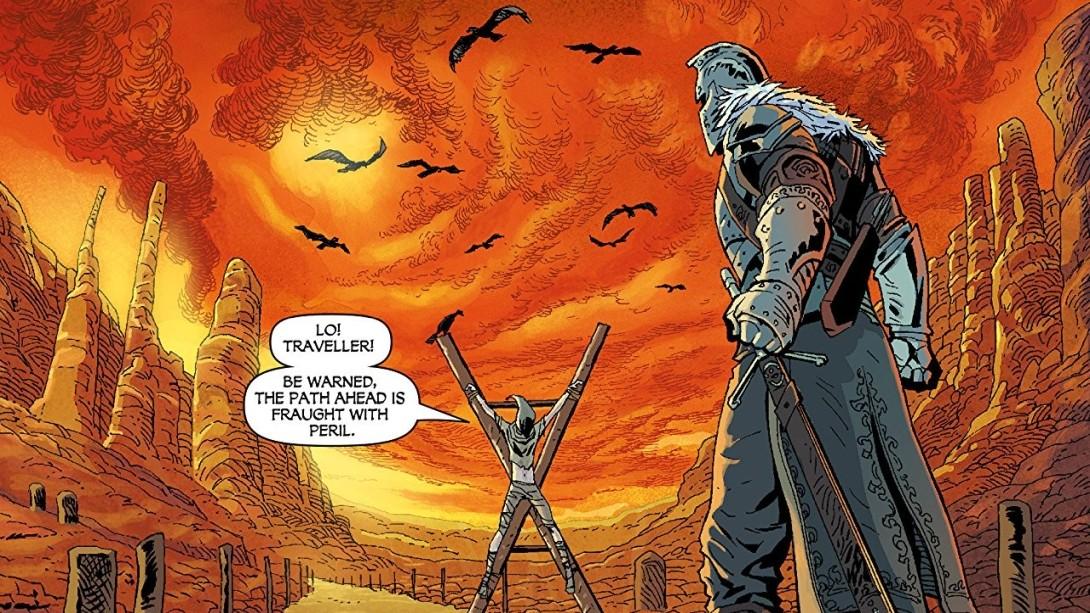 Dark Souls comics immagine 1