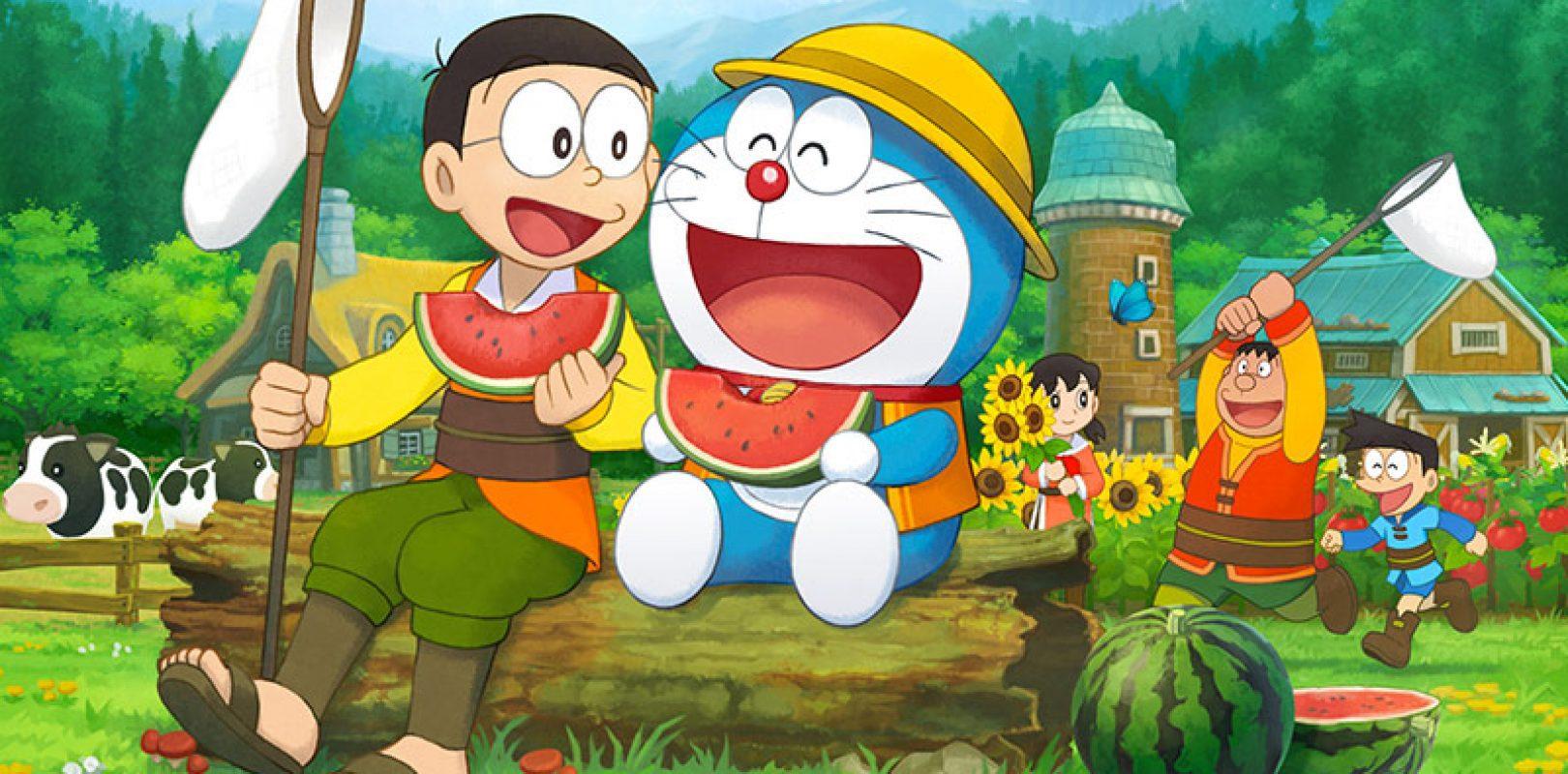 Doraemon si dà all agricoltura con doraemon story of seasons