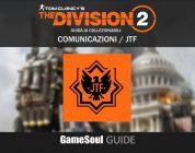 """The Division 2 – Guida ai collezionabili: Comunicazioni """"JTF"""""""