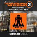 """The Division 2 – Guida ai collezionabili: Manufatti """"Reliquie"""""""