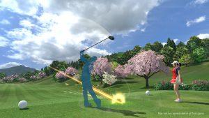 Everybody's Golf VR screenshot
