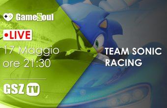 Team Sonic Racing: Allacciate le cinture! – Live Streaming
