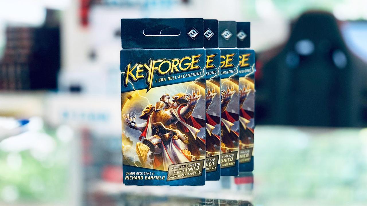 keyforge l'era dell'ascensione