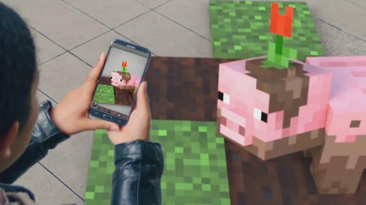 Minecraft AR