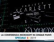 E3 2019, la conferenza Microsoft in cinque, esaltanti, punti