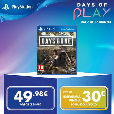 Days of Play GameStopZing