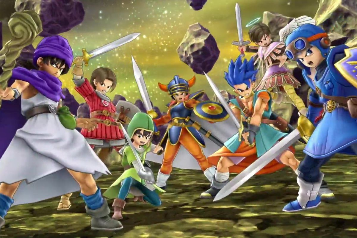 Super Smash Bros Ultimate Dragon Quest
