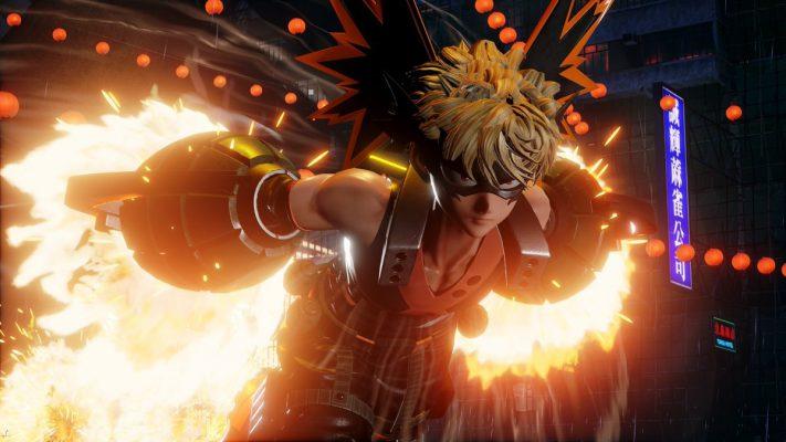 Jump Force Bakugo