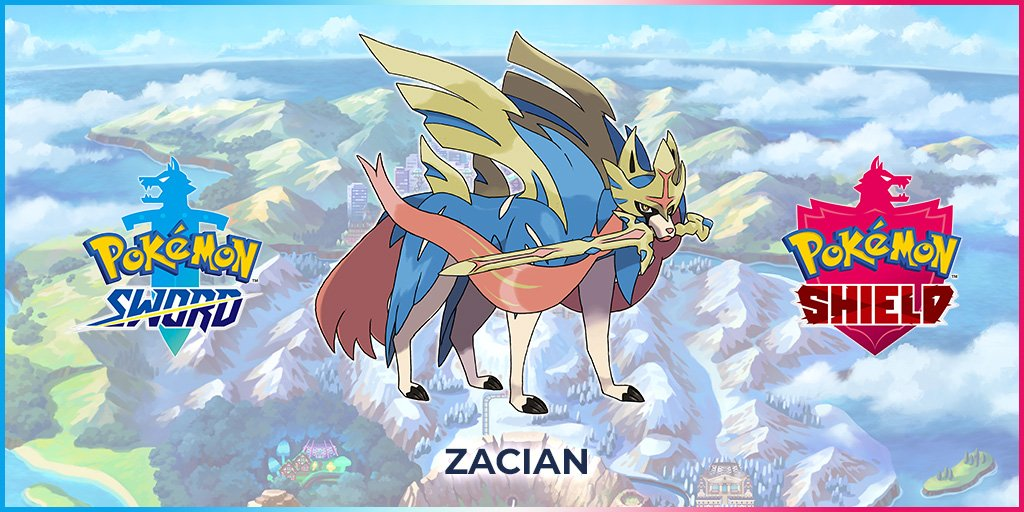 Pokémon spada scudo zacian