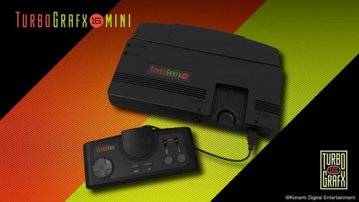 TurboGrafx-16 Mini, Konami annuncia data, prezzo e line-up completa
