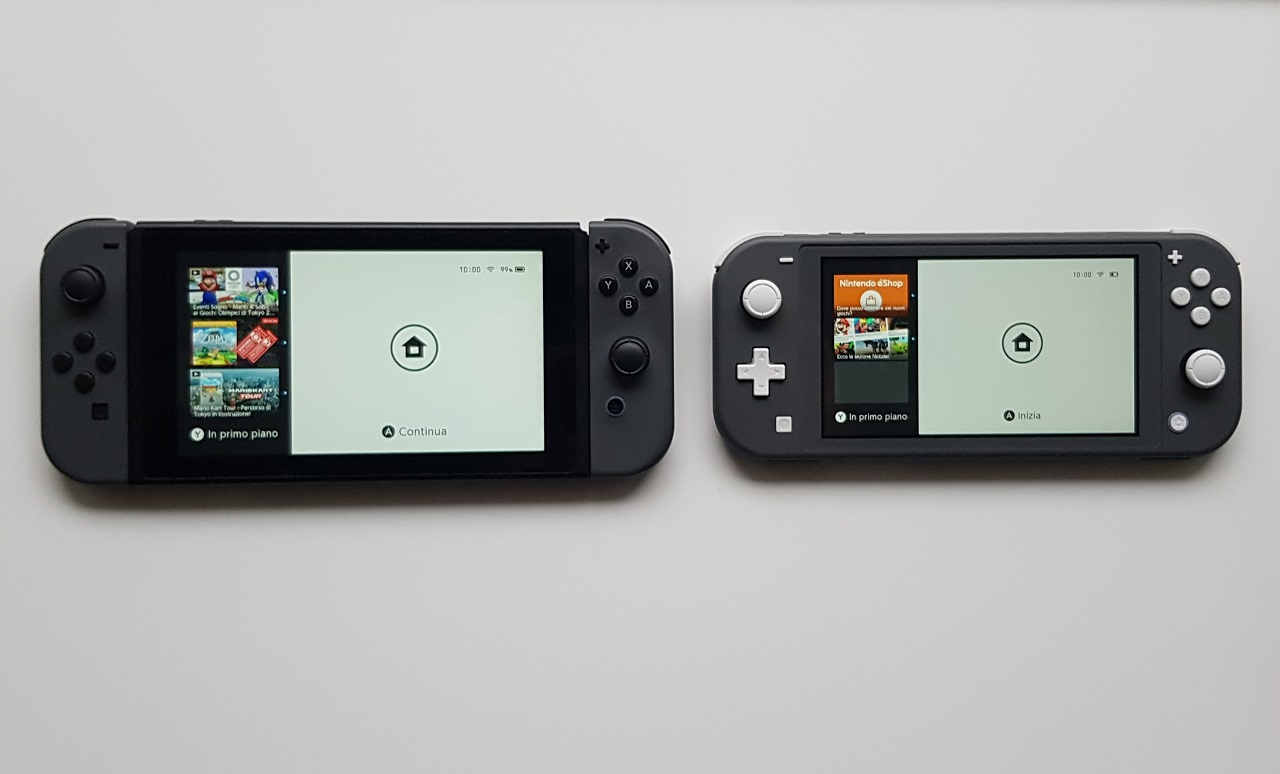 Switch Lite accessori
