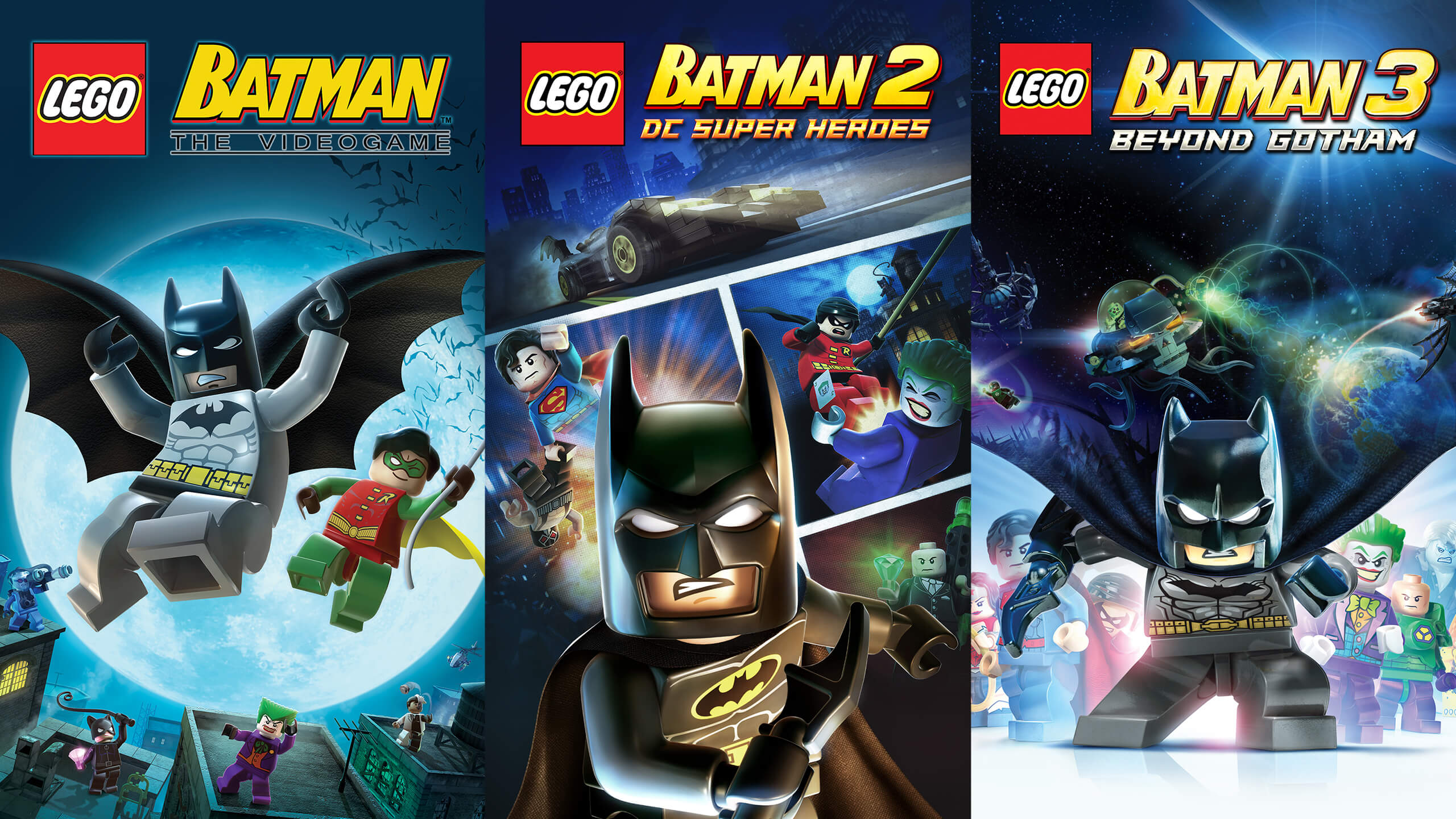 LEGO Batman trilogy epic games store