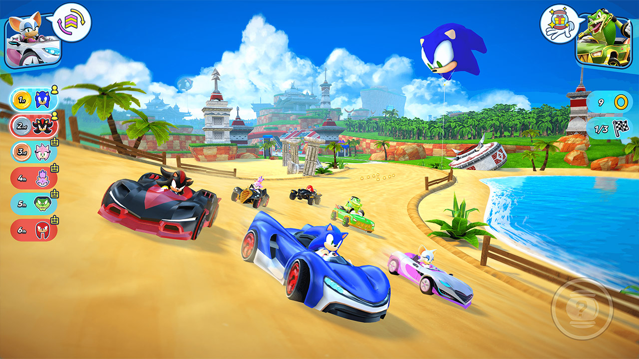 Sonic Racing Apple Arcade