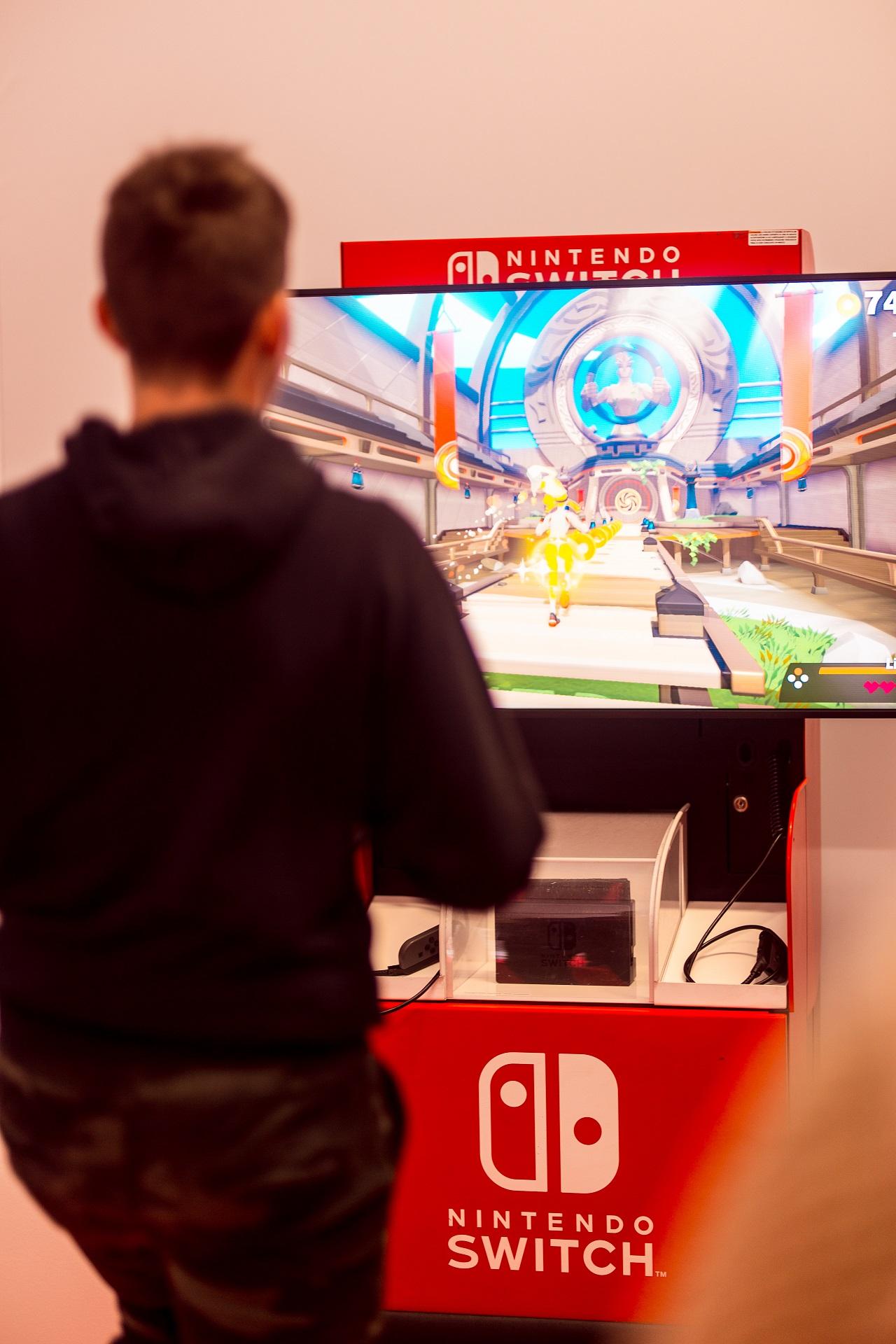 Lucca Comics 2019 Nintendo GameStop