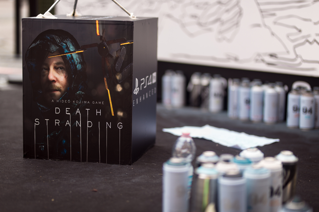 Death Stranding PS4 Lucca Comics & Games 2019 (1)