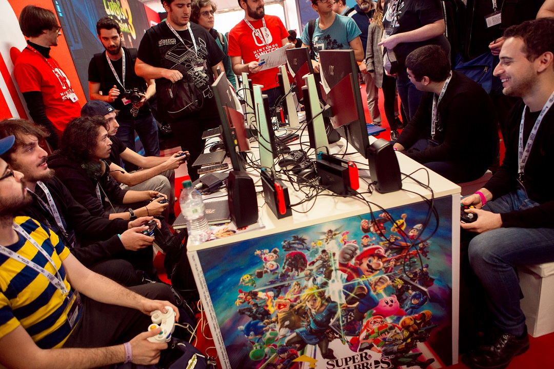 Lucca Comics & Games 2019 Super Smash Bros. Ultimate