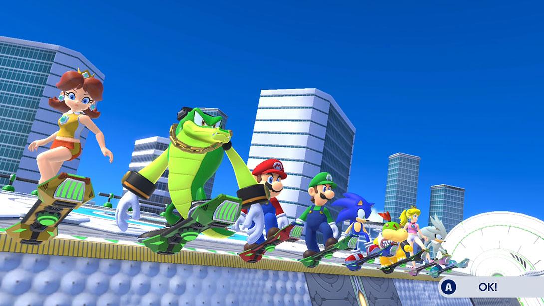 Mario & Sonic ai Giochi Olimpici di Tokyo 2040