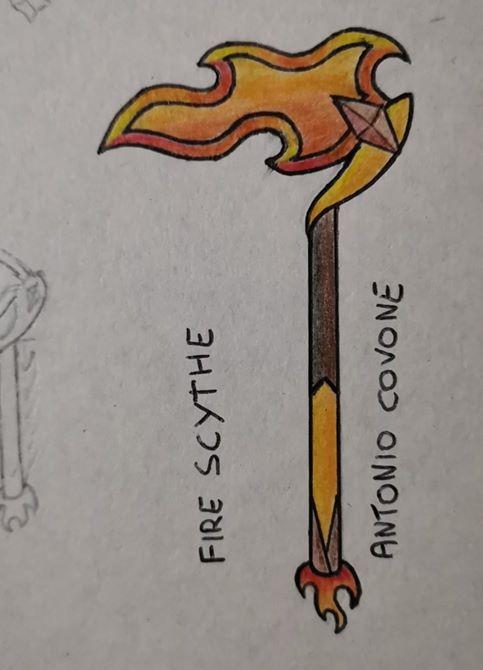 Graphic Contest: Crea un piccone, vinci un piccone - Fire Scythe