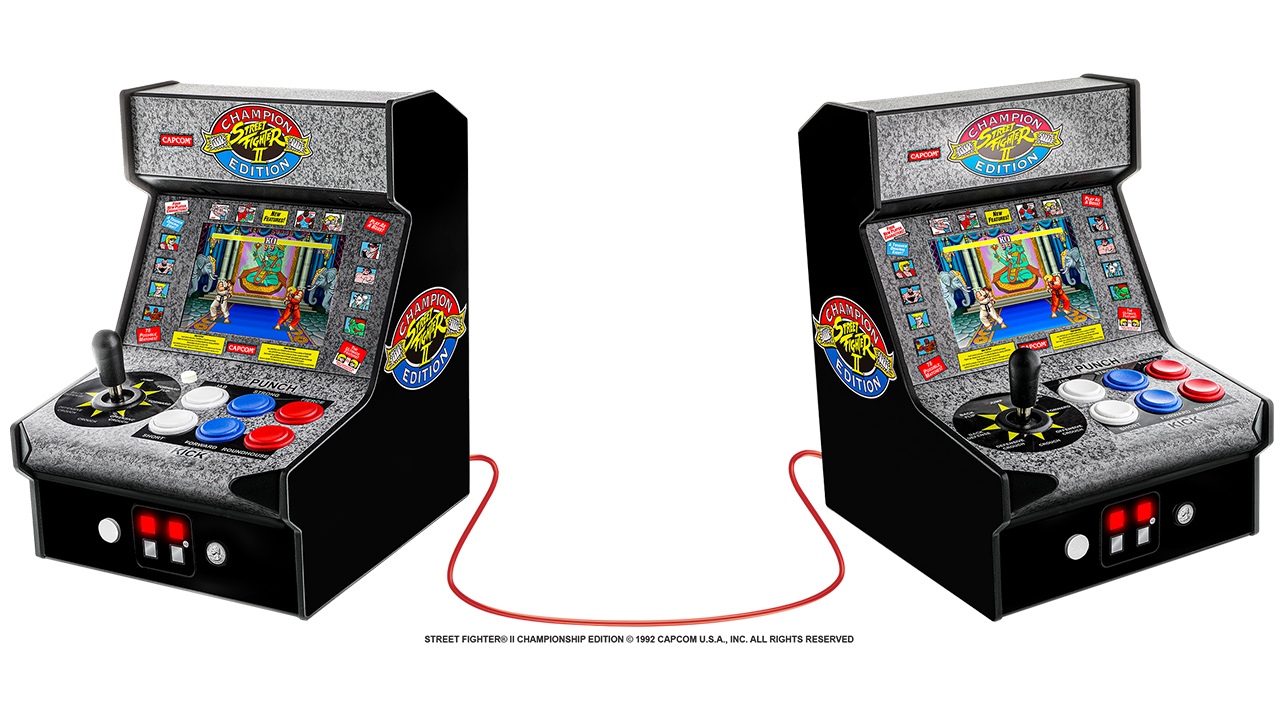 My Arcade Street Fighter II Champion Edition