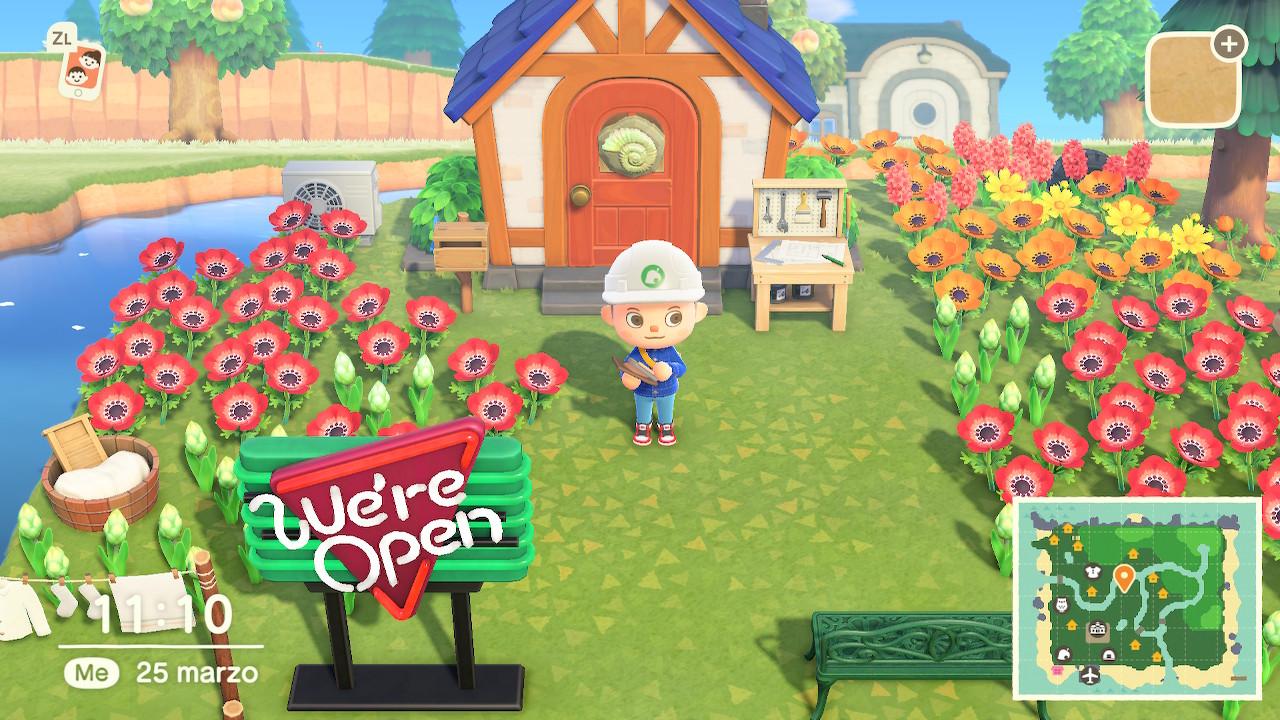 Animal Crossing Modifica Isola