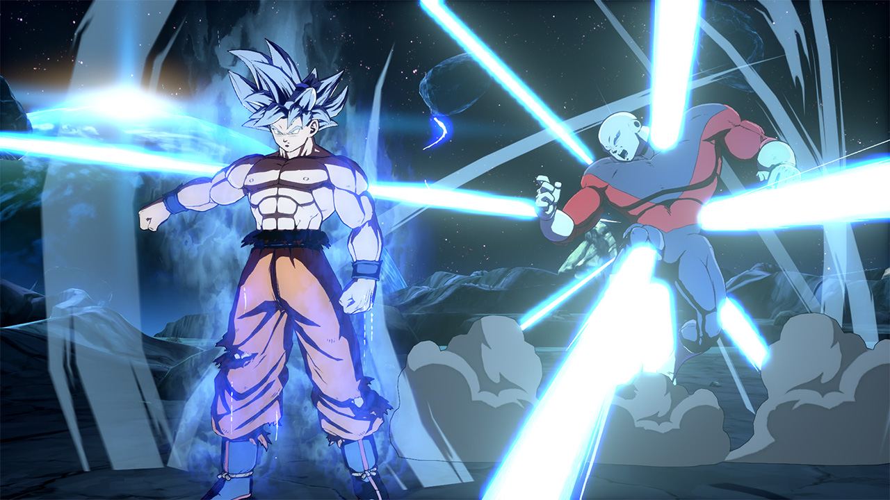 Goku Ultra Instinct Dragon ball Fighterz