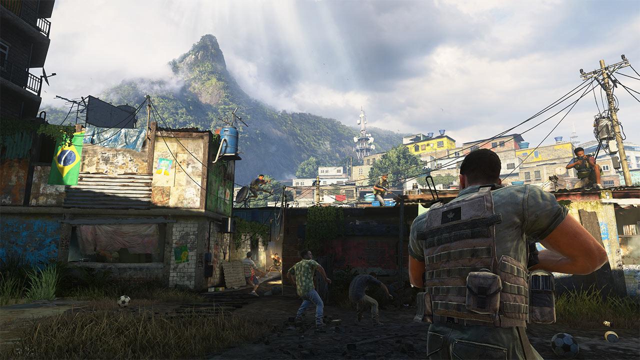 Call of Duty Modern Warfare 2 Remastered favelas