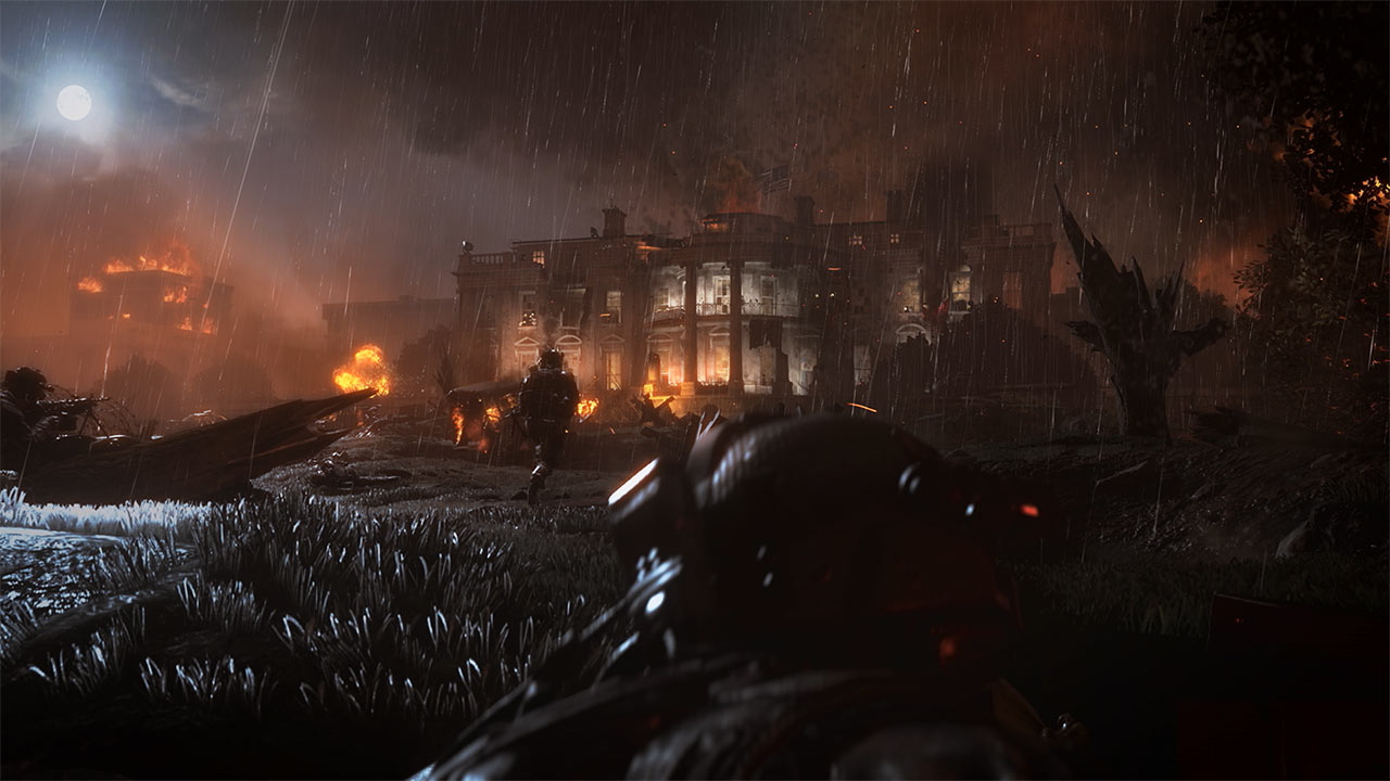 Call of Duty Modern Warfare 2 Remastered casa bianca