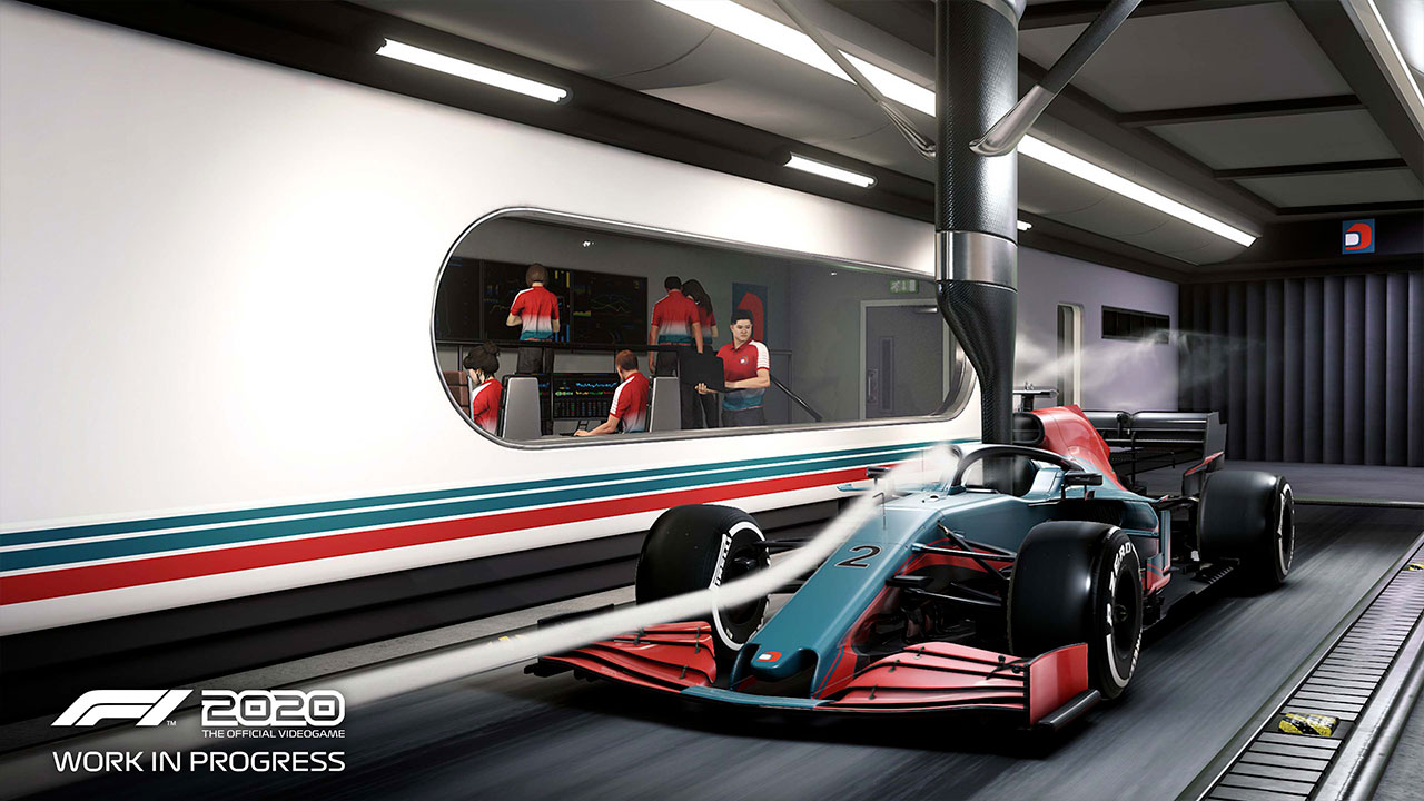 F1 2020 Recensione My Team Tunnel del vento
