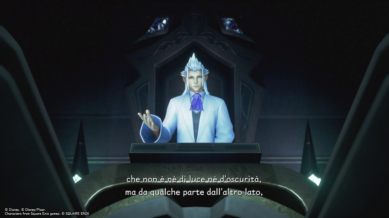 Kingdom Hearts Melody of Memory trama