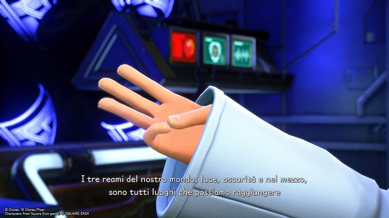 Kingdom Hearts Melody of Memory storia