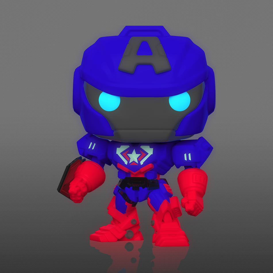 Captain America Mech Strike