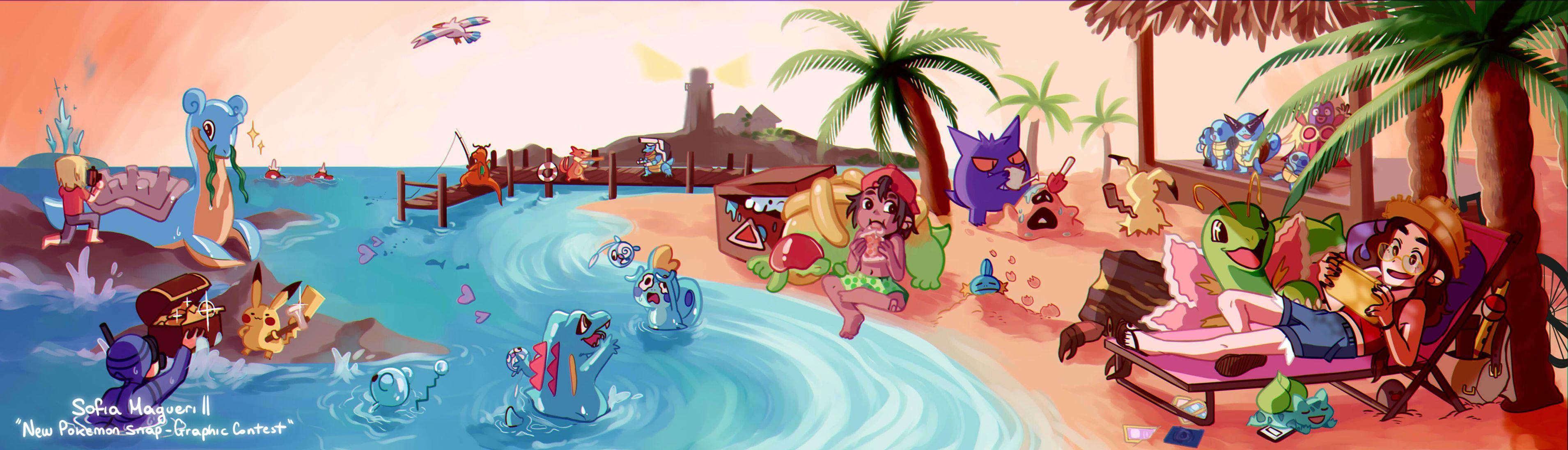 Sofia Magueri II - New Pokémon Snap Graphic Contest