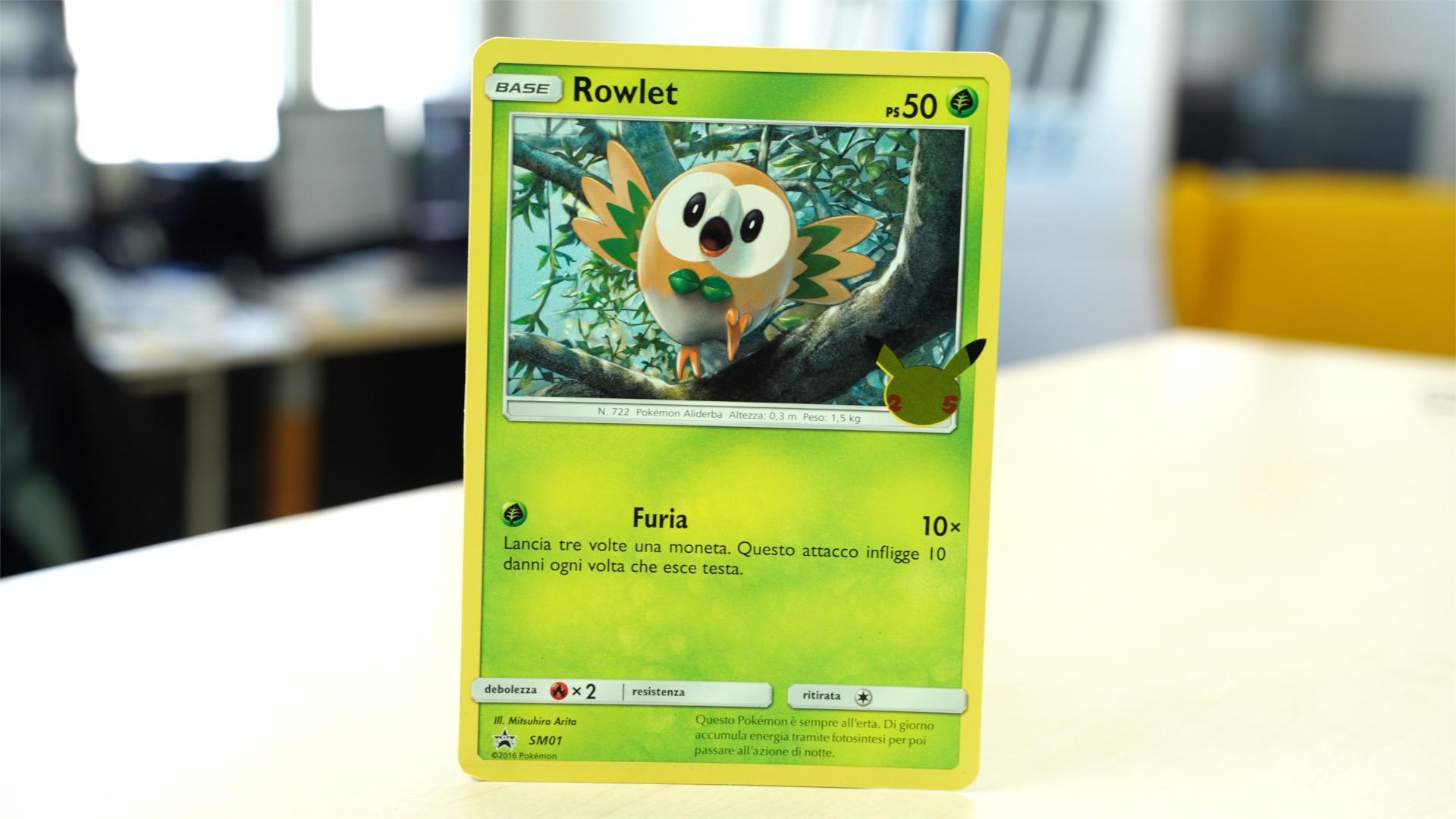 Rowlet Pokémon GCC
