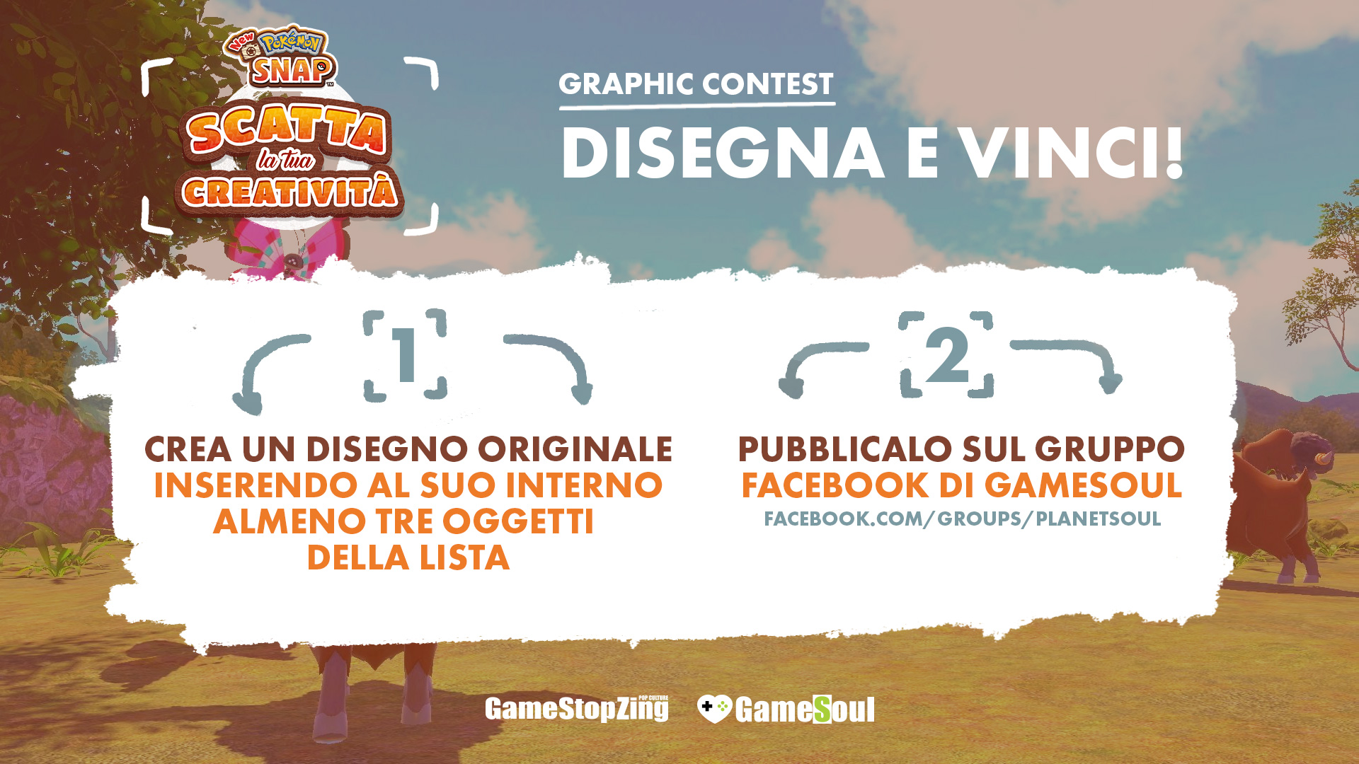 Graphic contest New Pokémon Snap, come si svolge