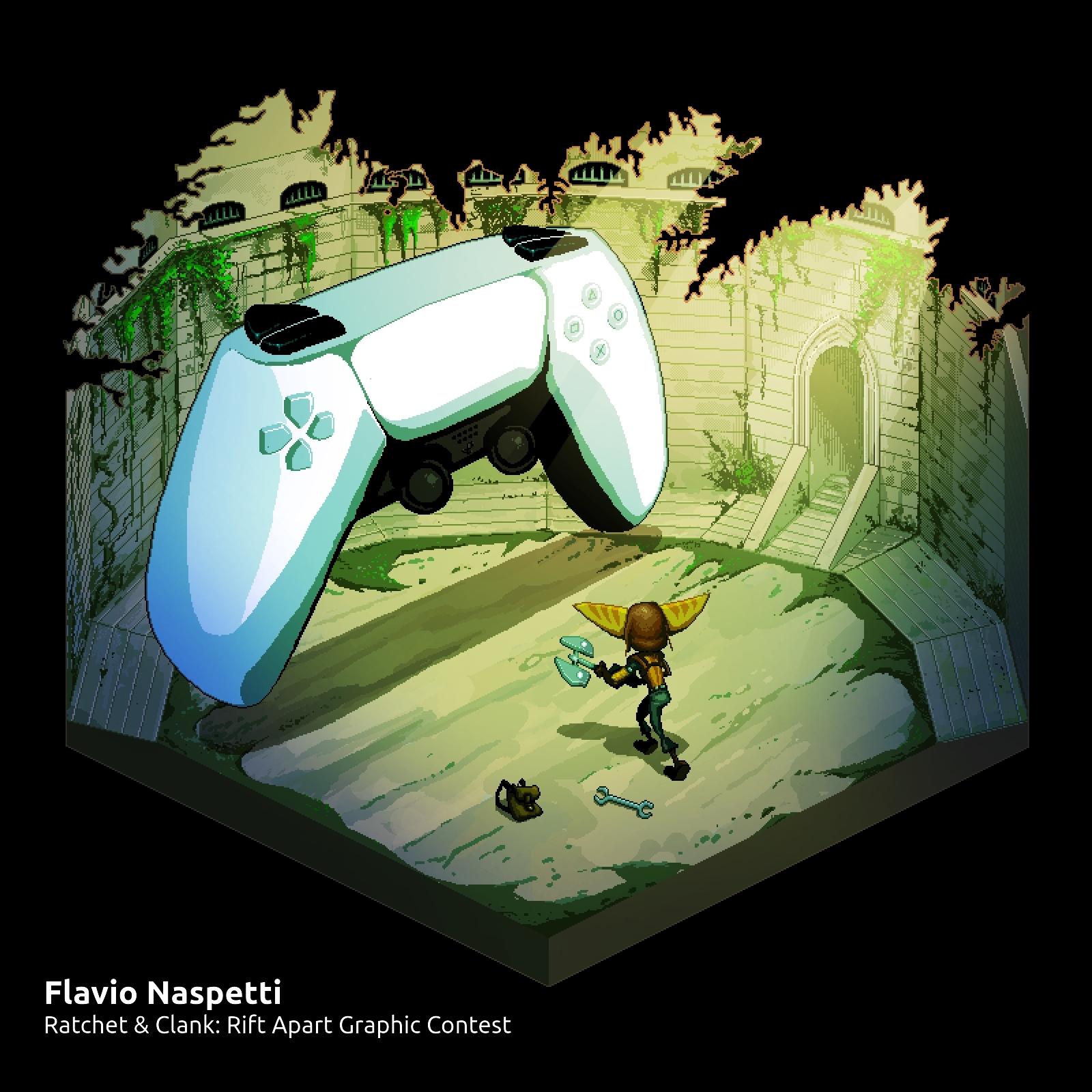 Ratchet & Clank: Rift Apart Graphic Contest, Premio Pixelart
